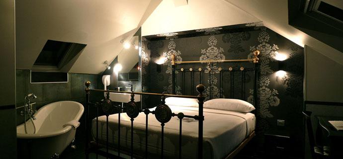 Zimmer design  Die Zimmer des Hotel Design Sorbonne